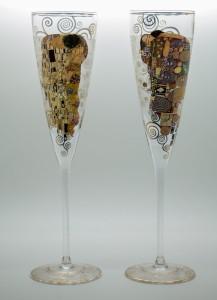 duo-flutes-champagne-klimt