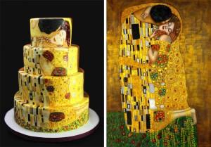 gustav-Klimt-cake